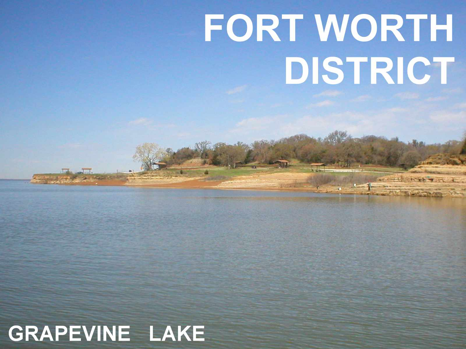 Army corps of engineers welcome to grapevine lake