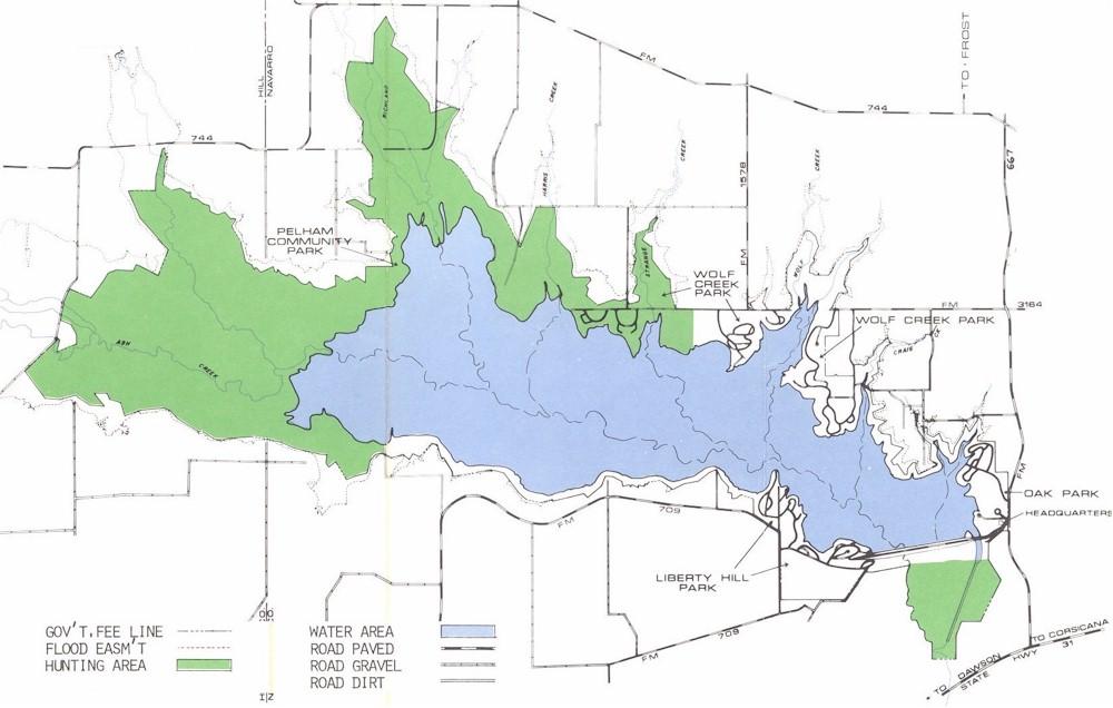 Mills Lake Hunting Map